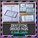 Identifying Ordered Pairs: 26 Task Cards