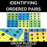 Identifying Ordered Pairs - Group Puzzle