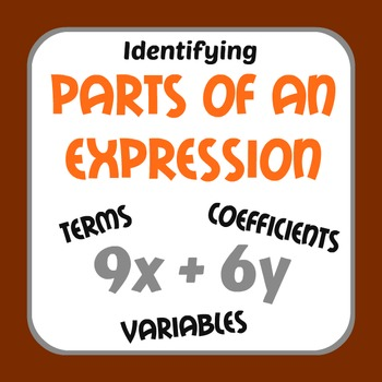 Identifying Parts of an Expression