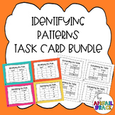 Identifying Patterns / Input-Output Table Task Card Bundle