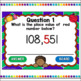 Identifying Place Value Powerpoint Game Distance Learning
