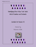 Identifying Place Value Task Cards Grades 3-5