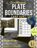 Identifying Plate Boundaries - Match Em'