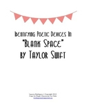 "Identifying Poetic Devices in ""Blank Space"" by Taylor Swift"