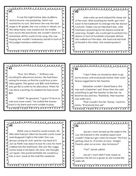 Point of View - Differentiated Task Cards