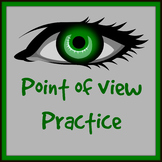 Identifying Point of View Practice worksheets