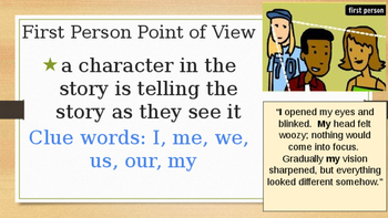 Identifying Point of View in Fiction