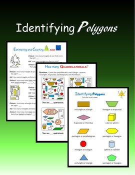 Identifying Polygons:  Plane and Solid Figures