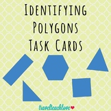 Identifying Polygons Task Cards