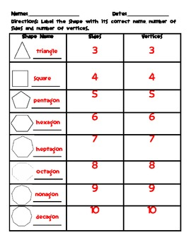 Identifying Polygons Worksheet by Saddle Up For 2nd Grade | TpT