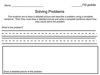 Identifying Problems and Solutions
