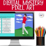 Identifying Pronoun Antecedents Digital Mystery Pixel Picture