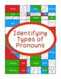 Identifying Pronouns Nominative Objective Possessive Printable Activity Grammar