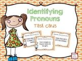 Identifying Pronouns Task Cards FREEBIE