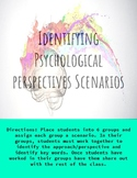 Identifying Psychological Perspectives Scenarios