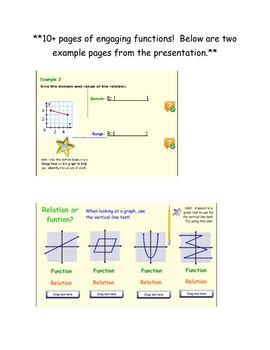 Identifying Relations and Functions: Interactive Smart Board Lesson