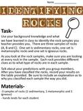 Identifying Rocks Lab