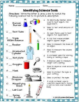 Science Tools Assessment
