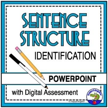 Sentences: Identifying Sentence Structure PowerPoint TEST PREP