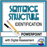 Sentences: Identifying Sentence Structure PowerPoint TEST PREP