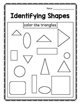 Identifying Shapes