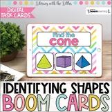 Identifying Shapes BOOM Cards | Digital Task Cards | Dista