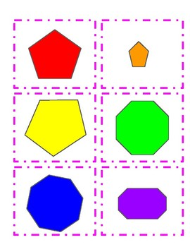 Identifying Shapes, Sides, and Vertices