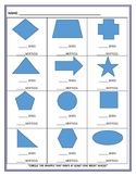 Identifying Sides and Vertices on Plane Shapes