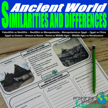Similarities and Differences in the Ancient World