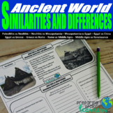 Identifying Similarities and Differences in the Ancient World