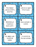 Identifying Simile or Metaphor Task Cards