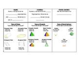Identifying Solids Chart/Graphic Organizer