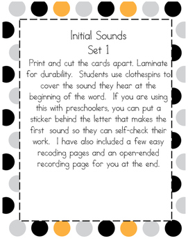 Identifying Sounds