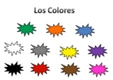 Identifying Spanish colors game