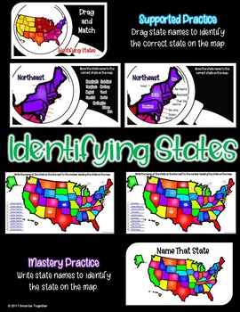 Identifying States and Capitals - Digital