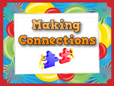Identifying Text Connections Task Cards--Close and Critical Reading