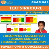 Identifying Text Structure PowerPoint Presentation