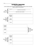 Identifying Theme - Literary Analysis Essay Organizer
