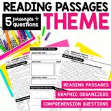 Identifying Theme - Reading Passages with Comprehension Questions