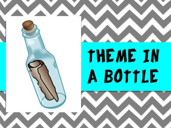 Identifying Theme - Theme in a Bottle