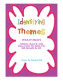 Identifying Themes in Literature - Tied to Common Core Standards