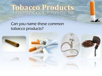 Identifying Tobacco Products