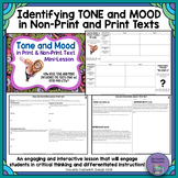 Identifying Tone and Mood in Non-print and Print Texts
