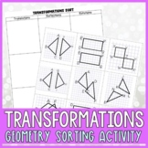 Geometry Transformations Sorting Activity