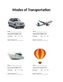 Identifying Transportation Modes