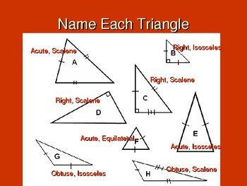 Identifying Triangles 5E Lesson Plan and Powerpoint