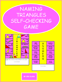 Identifying Triangles Self Checking Activity