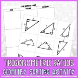 Identifying Trig Ratios Card Sort