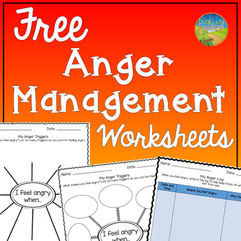 picture about Anger Management Quiz Printable identified as Worksheets Upon Anger Instructors Pay back Academics