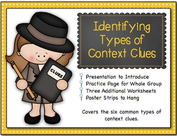 Identifying Types of Context Clues